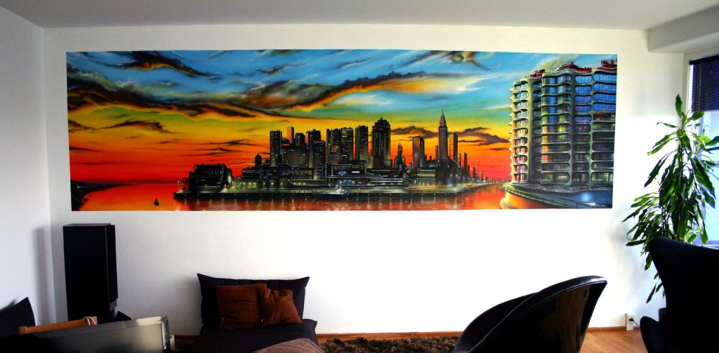 Read more about the article Metropolis skyline