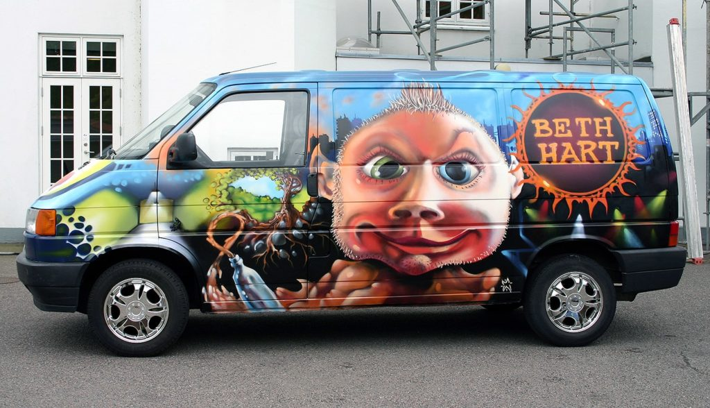 Read more about the article Blue Van